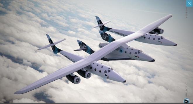 Миллиардер Ричард Бренсон поручит первый полет космического корабля SpaceShipTwo украинцу