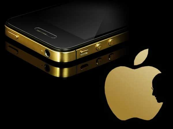 iPhone 5, инкрустировали бриллиантами.