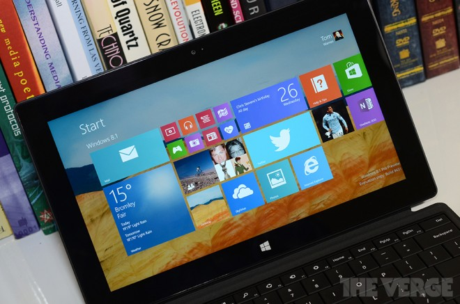 Приложение Windows 8.1 будет распознавать речь.