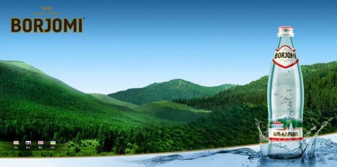 Минеральная вода «Боржоми» вновь на российском рынке.