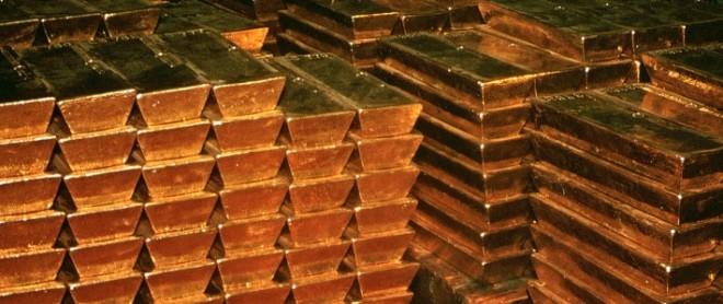 Германия отказалась от услуг Франции и Англии в хранении своих золотых запасов.